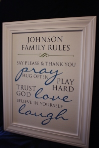 Custom Family Rules