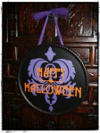 Halloween - happy halloween in frame